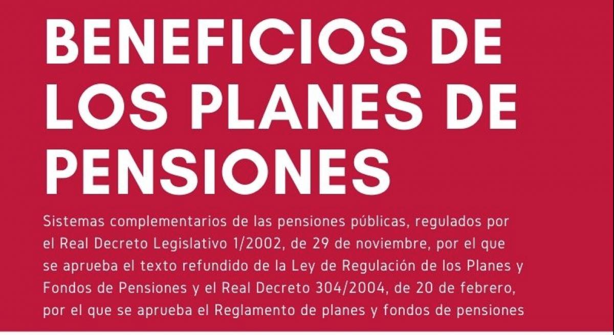 beneficios de los planes de pensiones