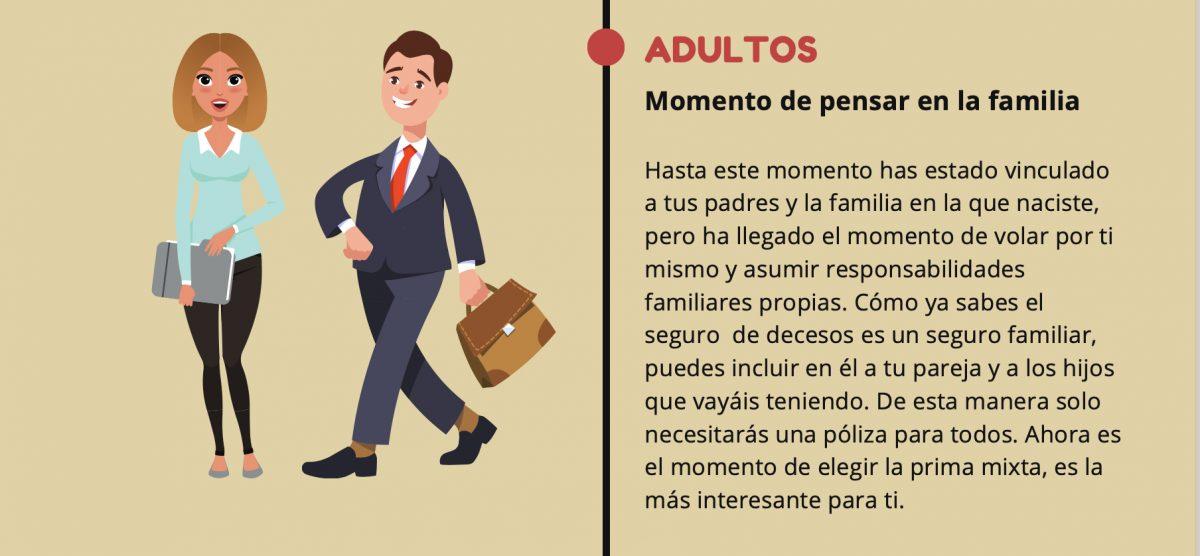 Infografía: La edad en el seguro de decesos